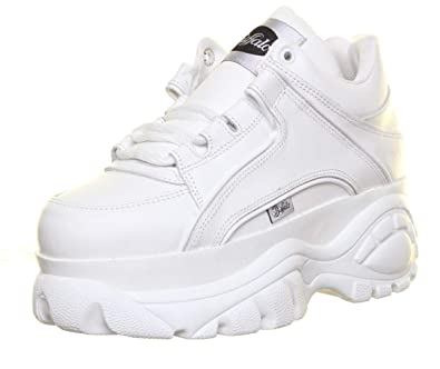 65a4d45bd48a Buffalo Womens 1339-14 Black Patent Patent Leather Shoes 39 EU  Amazon.co.uk   Shoes   Bags