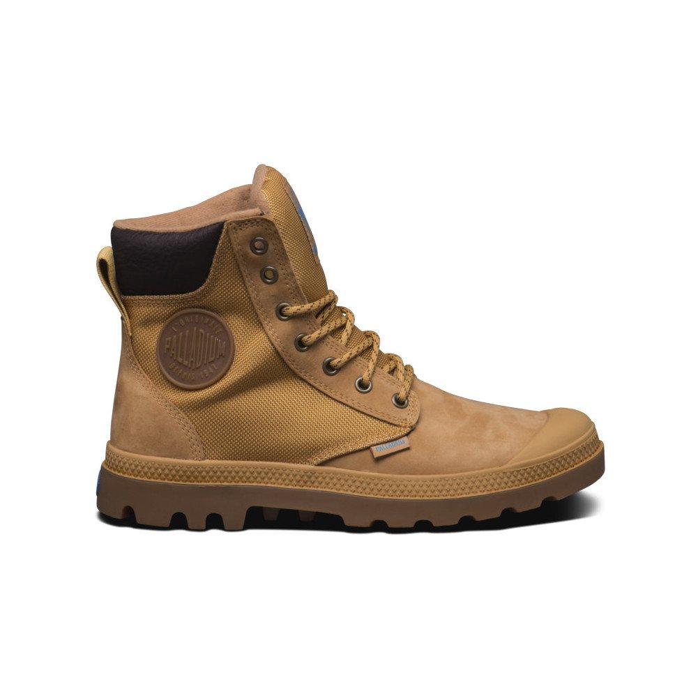 Palladium Pampa Sport Cuff WPN Boots UK 11 Amber Gold Mid Gum