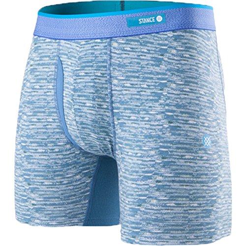 Butter Blend - Stance Men's Weaver Butter Blend Boxer Brief Underwear (Blue, Medium)