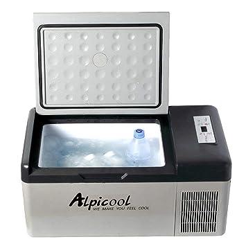 QCYSK Congelador de Nevera portátil de 15 litros para compresor de ...