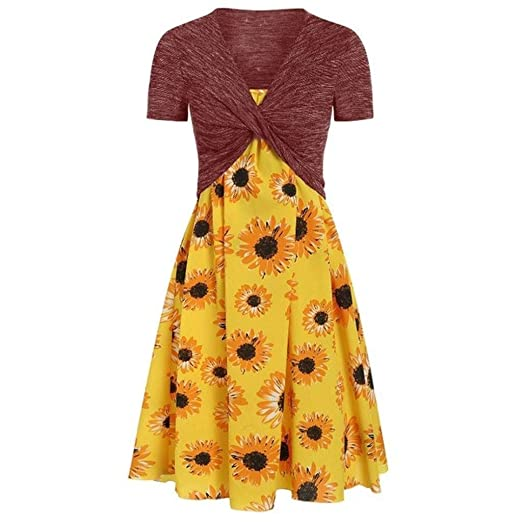 Go First Sexy Summer Summer Sunflower Print Sling Set ...