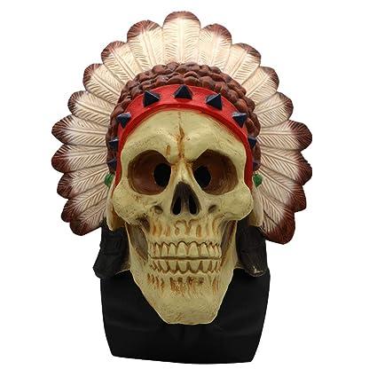 NKLD Halloween Horror Payaso Máscara Hombres Y Mujeres Miedo Mueca Casa Zombie Apoyos Adultos Zombie Suministros