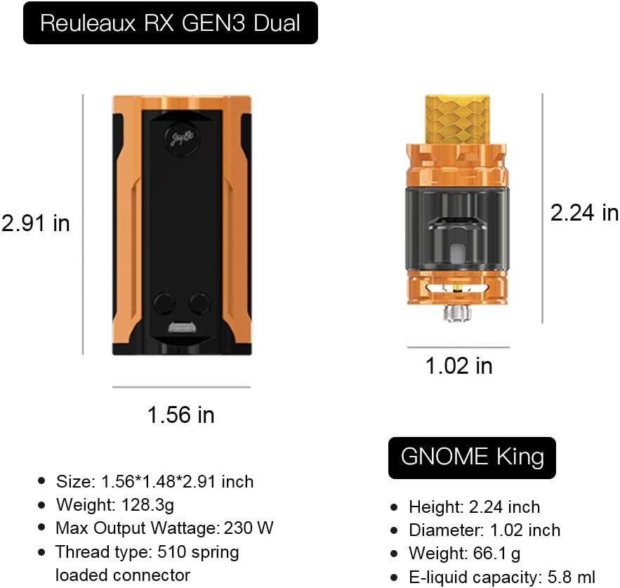 WISMEC CONSEGNA 48 ORE AUTENTICO RX GEN3 CON GNOME KIT