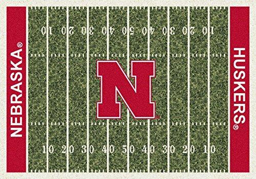 Nebraska Cornhuskers NCAA Area Rug - Home Field (5'4