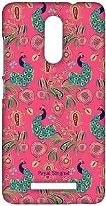 جراب Macmerise Payal Singhal Anar And Mor Pink Sublime لهاتف Xiaomi Redmi Note 3