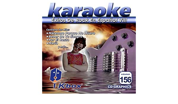 - KBO-156 xitos De Rock En Espa??ol Viii(Karaoke) by Harag??n, Los Amantes De Lola, Bla Bla Bla, Enanitos Verdes, La Ley, Fobia, Hombres G, Caifanes, ...