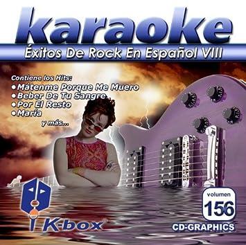 KBO-156 xitos De Rock En Espa??ol Viii(Karaoke) by