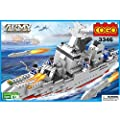 COGO Army the Aircraft Carrier Educational Toys Blocks 646 Pieces - 3346