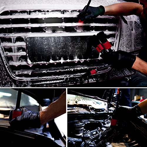Nablue car motorcycle automotive cleaning detailing brush - Interior and exterior car detailing ...