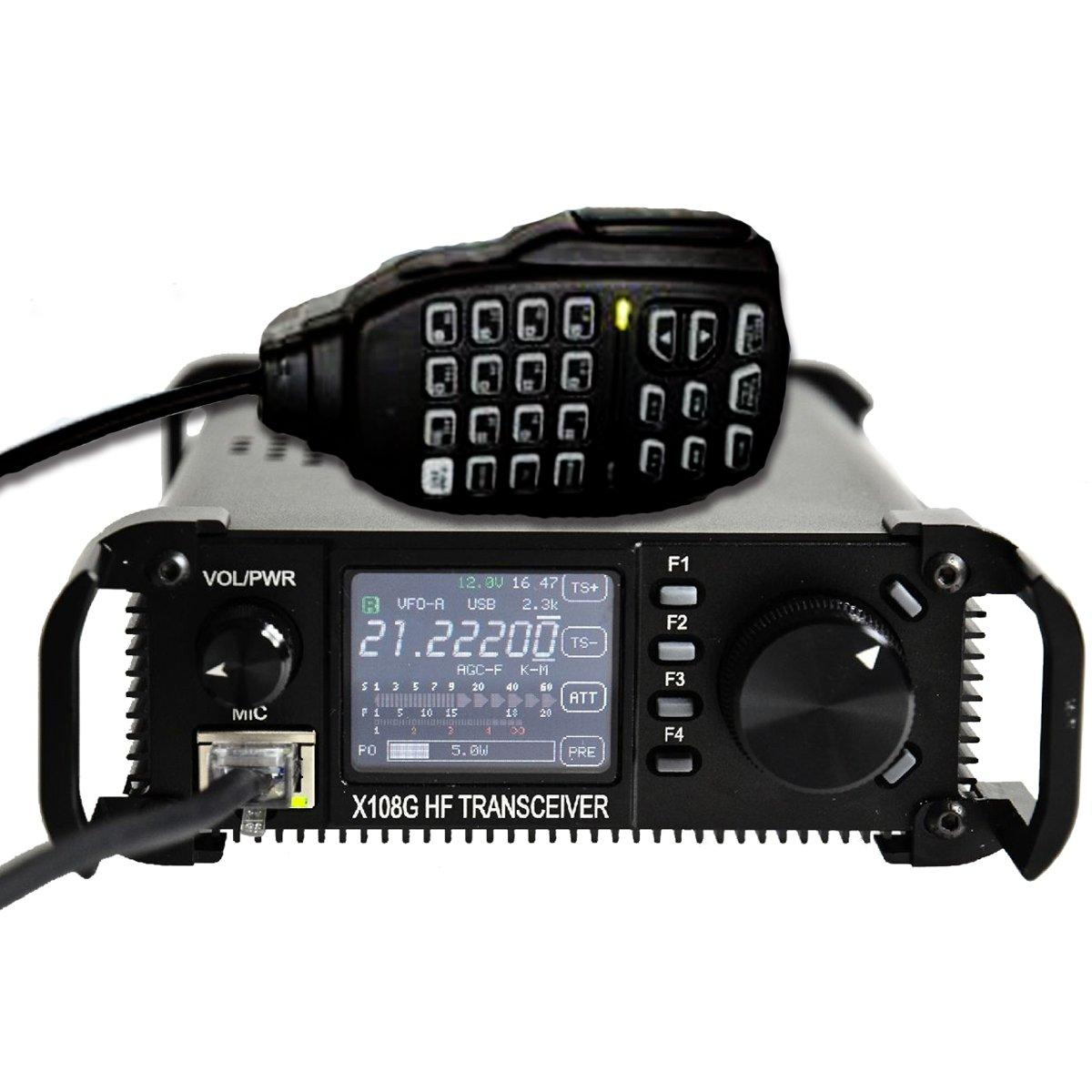Xiegu X-108G QRP Transceiver Outdoor Version 9 Bands AM/SSB/CW 1-20 watts Black by Xiegu (Image #9)