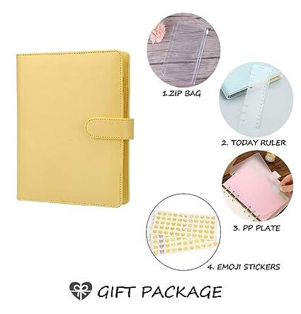 Cuaderno de espiral cuaderno de cartón, Macaron, diario de ...