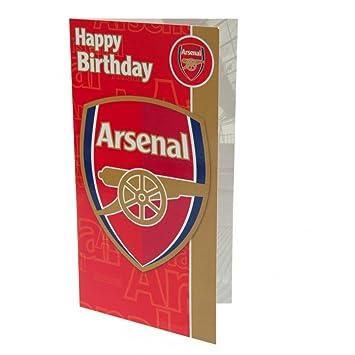 Arsenal Birthday Card Amazonde Sport Freizeit