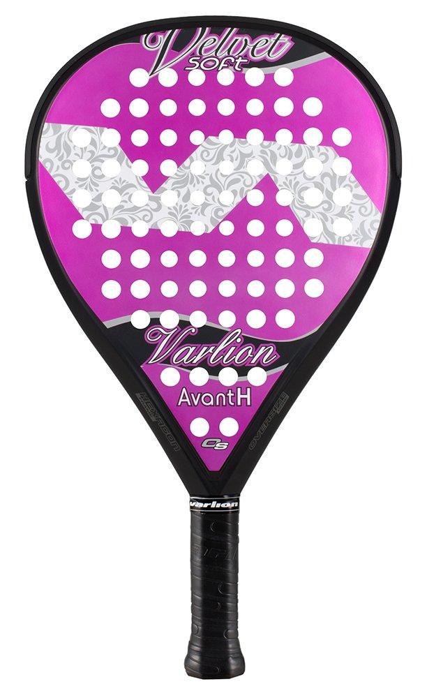 Varlion Avant H Velvet - Pala de pádel, Mujer Adulto, Morado/Violeta, 360-365 gr.: Amazon.es: Deportes y aire libre