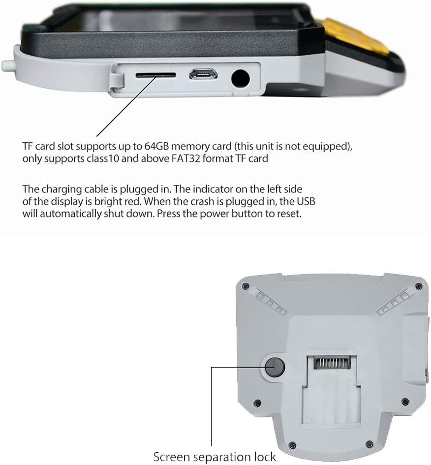 c/ámara de inspecci/ón de videoscopio con boroscopio LCD Impermeable endoscopio 1080P Pantalla LCD a Color de 4.3 Pulgadas GMACCE Endoscopio Industrial Digital