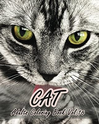 CAT : Adults Coloring Book Vol.16: An Adult Coloring Book of Cats in a Variety of Styles