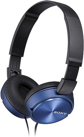 Sony Mdr Zx310l Lifestyle Kopfhörer Blau Elektronik