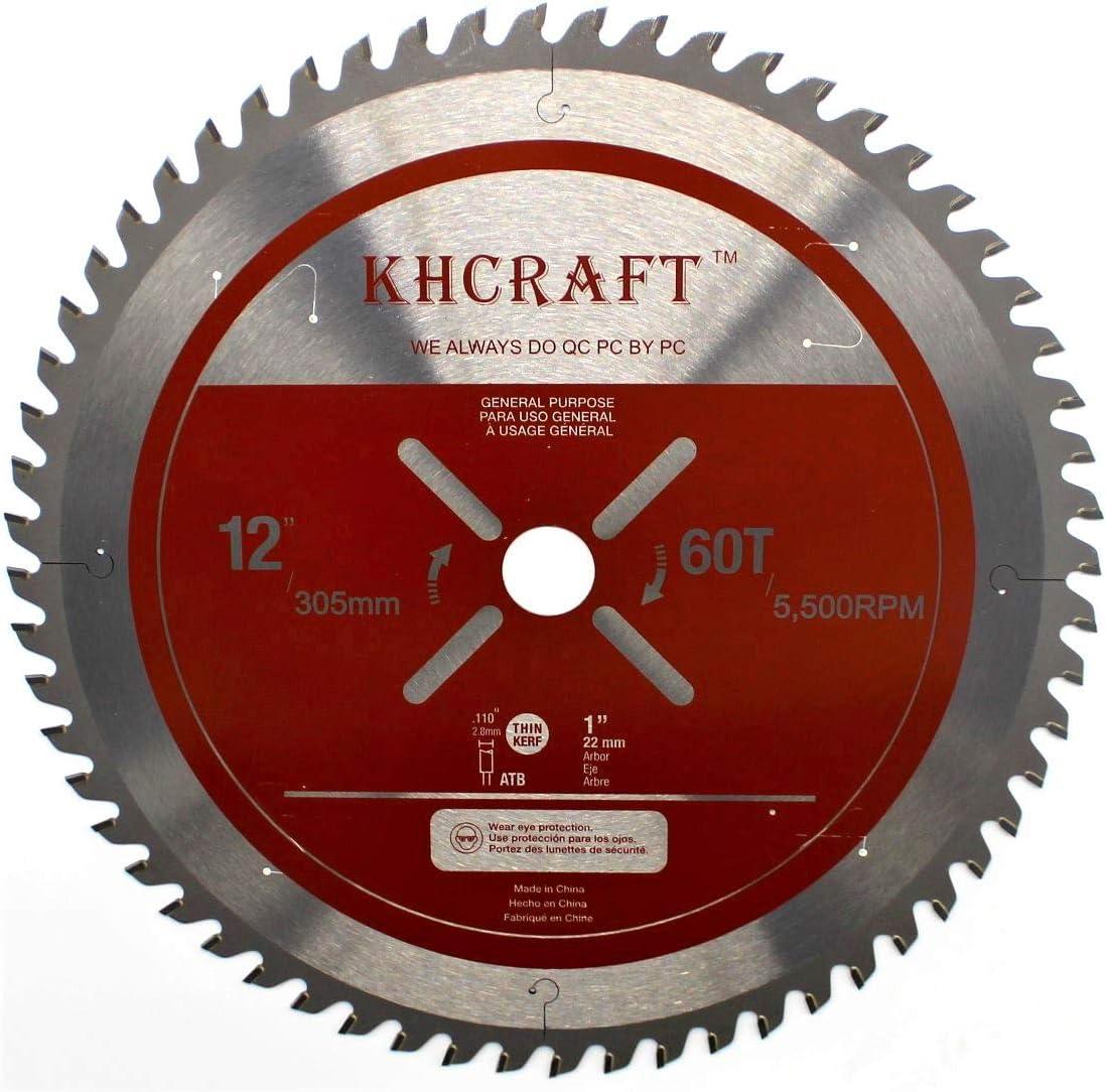 KHCRAFT Laser-Cut Circular Saw Blade