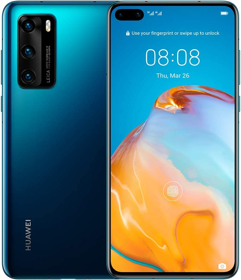 "Amazon.com: Huawei P40 5G 6.1"" Dual SIM 128GB 8GB RAM (GSM Only"