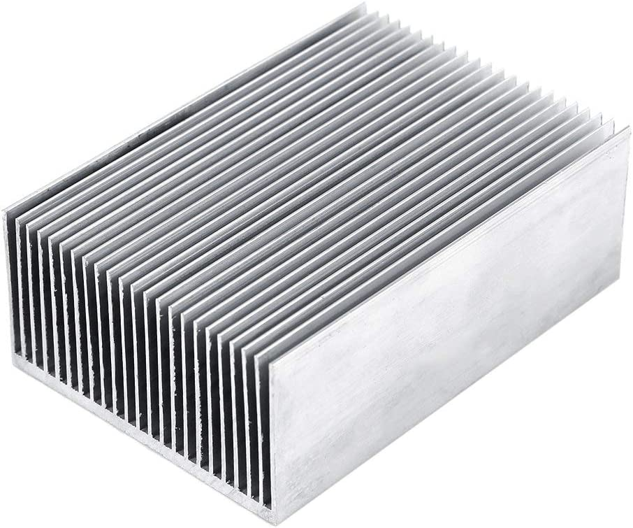 Heat Sink,Cooling Chip 1pc IC Module 1006936mm Aluminum Heatsink Heat Sink Cooling for Led Amplifier Transistor