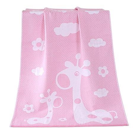 Toallas de baño de Jirafa Felices Toallas de Familia de algodón Toallas de Toalla para niños
