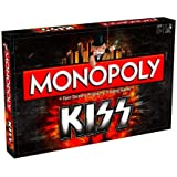 Monopoly Kiss 2282 Property Trading Board Game Gene Simmons Paul Stanley Collectable