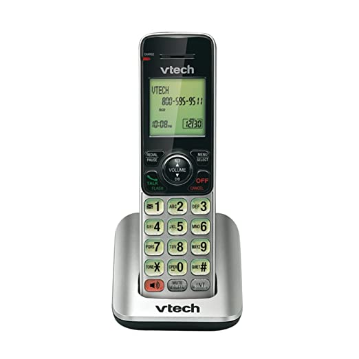 amazon com vtech cs6619 2 dect 6 0 cordless phone with 2 handsets rh amazon com