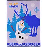 teppich kinderteppich spielteppich mit motivauswahl frozen olaf sven. Black Bedroom Furniture Sets. Home Design Ideas