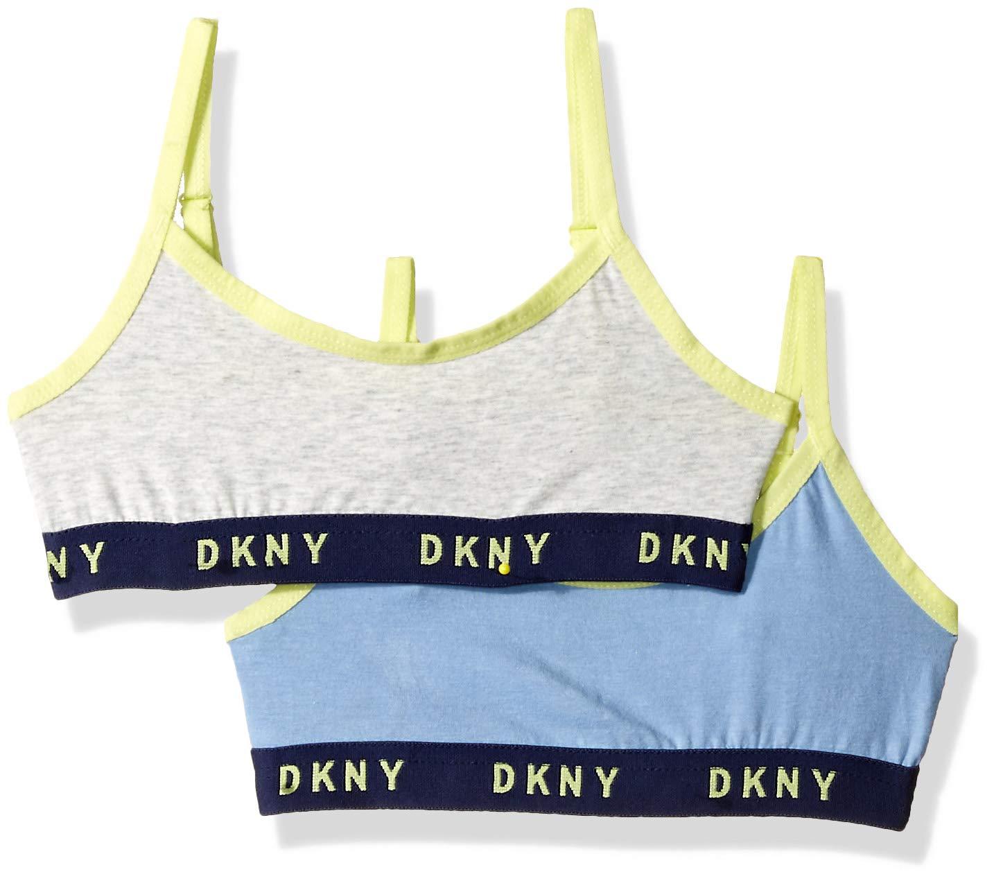 DKNY Girls' Big 2 Pack Trainer Bra