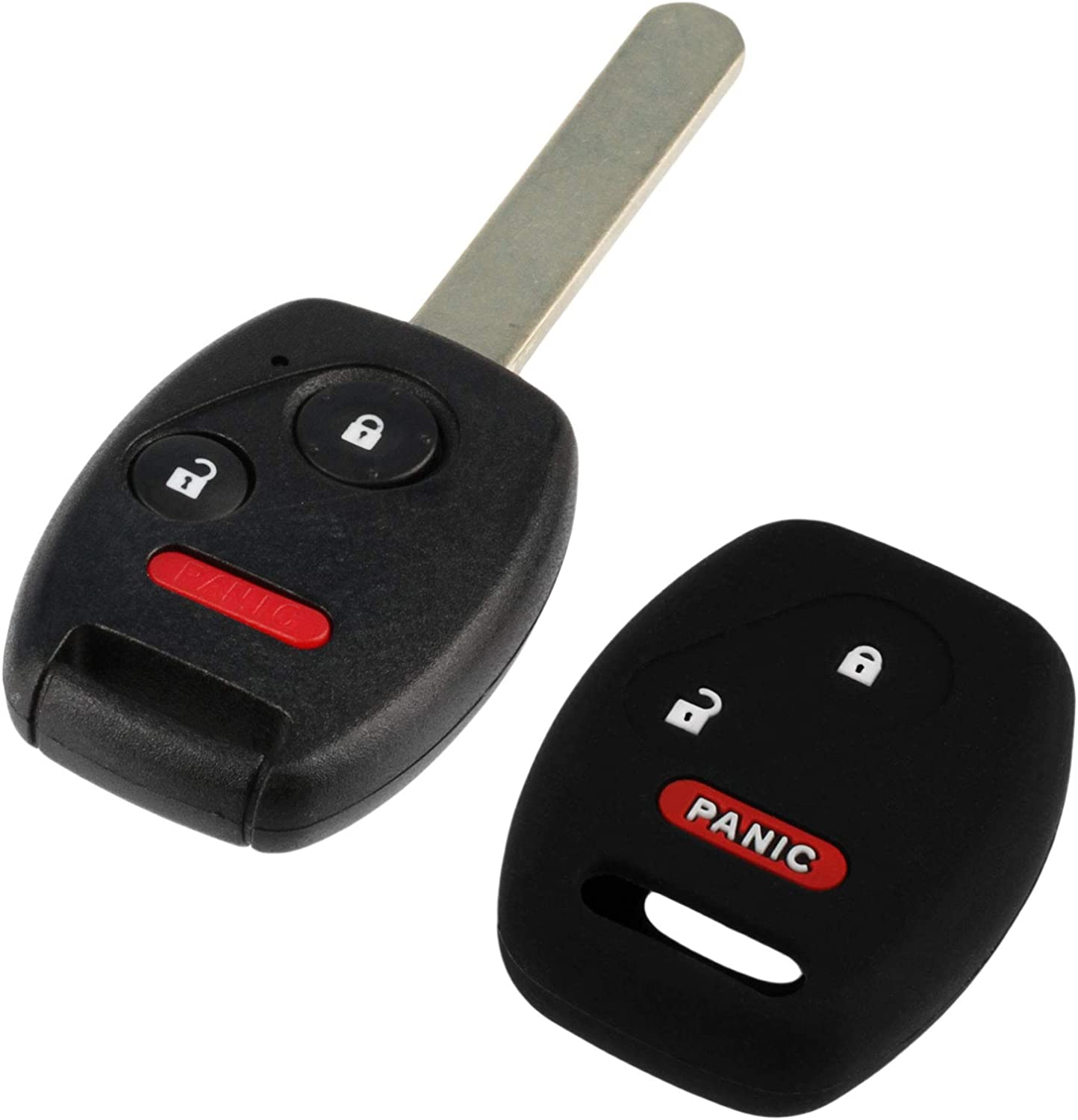 MLBHLIK-1T Protective Cover Key Fob Keyless Remote fits 2007-2015 Honda Vehicles