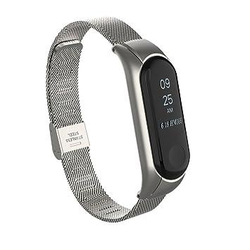Amazon.com: Redvive para Xiaomi Mi Band 3 banda de reloj ...