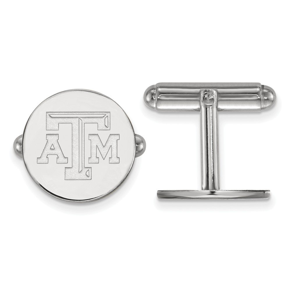Texas A&M Cuff Links (Sterling Silver)