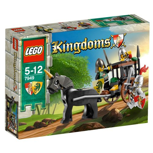 Lego Kingdoms - 7949 - Jeu de Construction - La Capture du Soldat du Roi