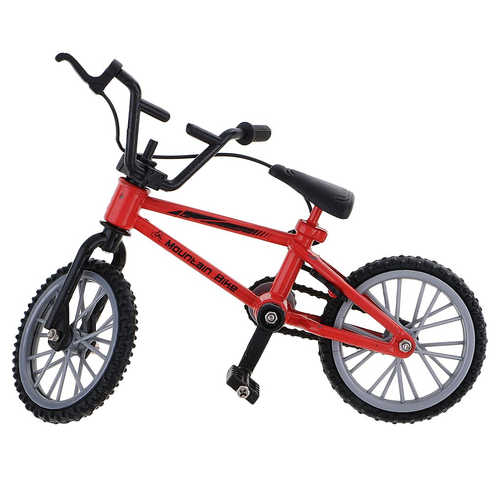 Homyl 2x Finger Mountain Bikes Bicycle w// Spare Tires for Children Kids Collection