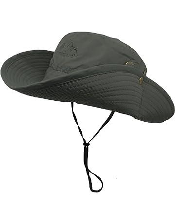 4d8e1efcfee8f OMECHY Waterproof Outdoor Bucket Mesh Hat Summer UV Protection Sun Cap  Boonie Fishing Camouflage Hat