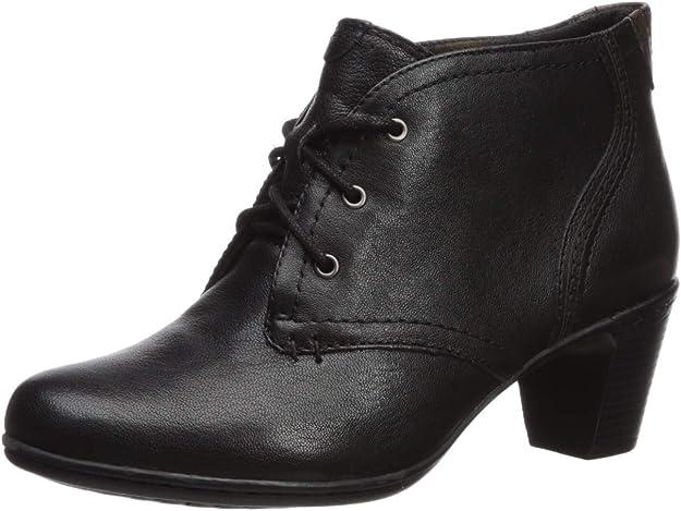Cobb Hill Womens Rashel Buckle Suede Almond Toe Ankle Size 6.0 Black Nubuck