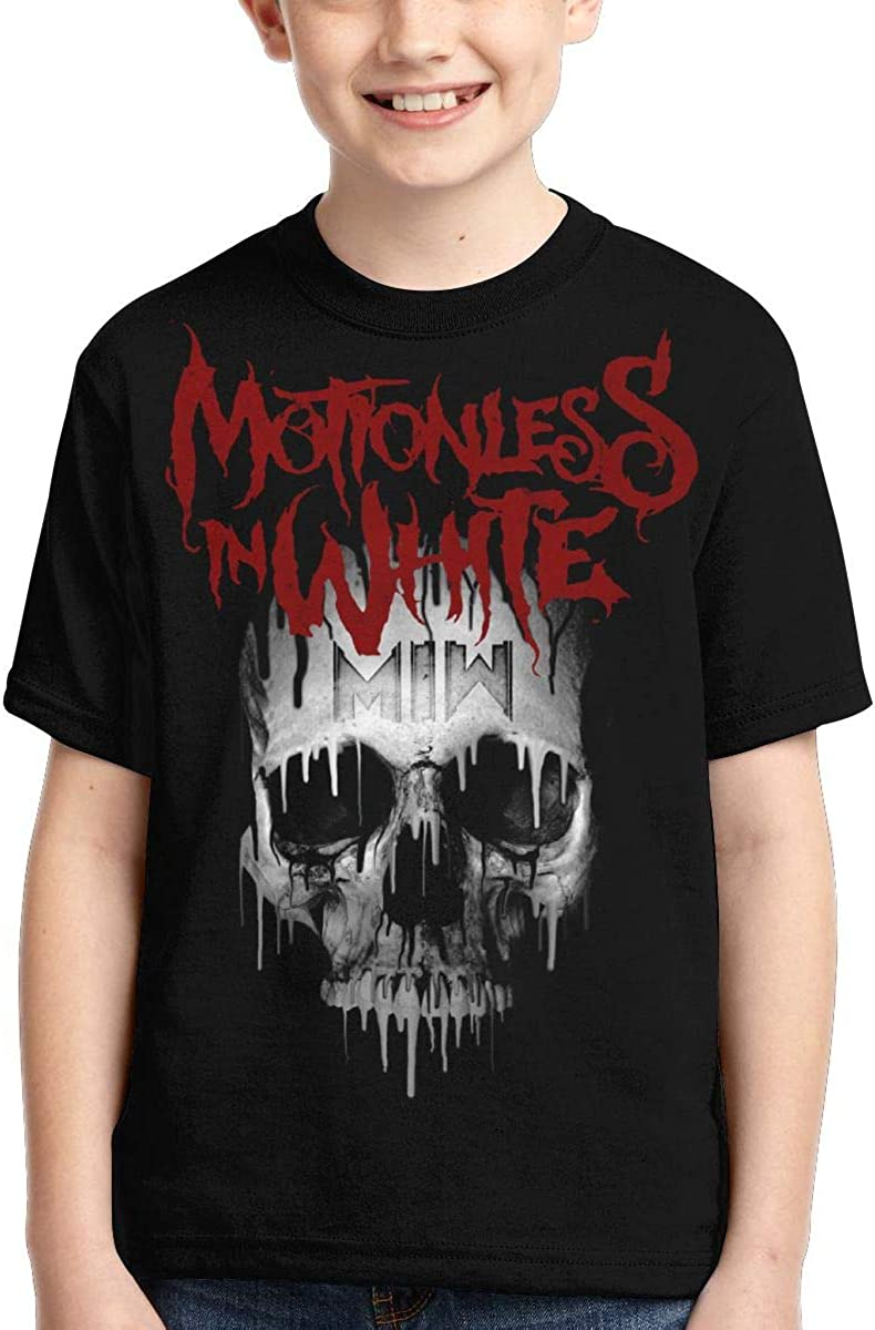 Zengqinglove Boys,Girls,Youth Motionless in White T Shirt