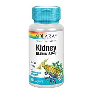 Solaray Kidney Blend SP-6, 100 Count