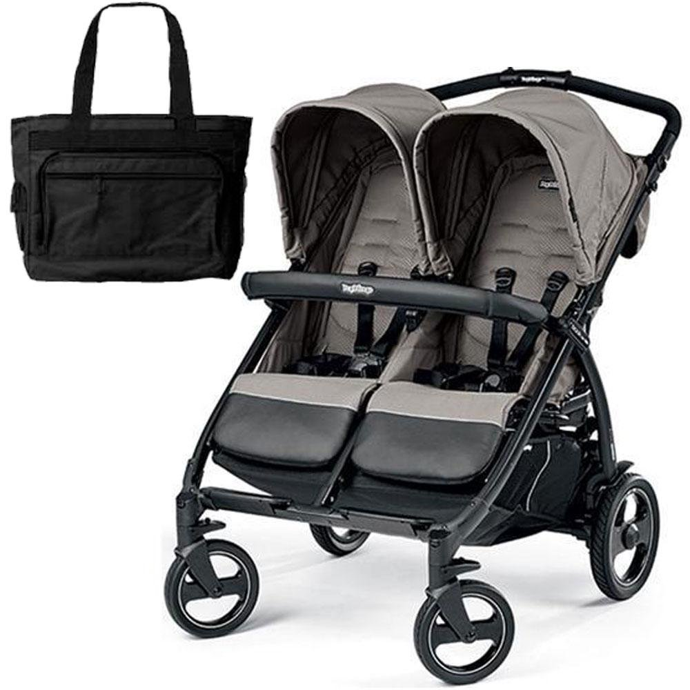 Peg Perego - Book for Two Atmosphere with Diaper Bag