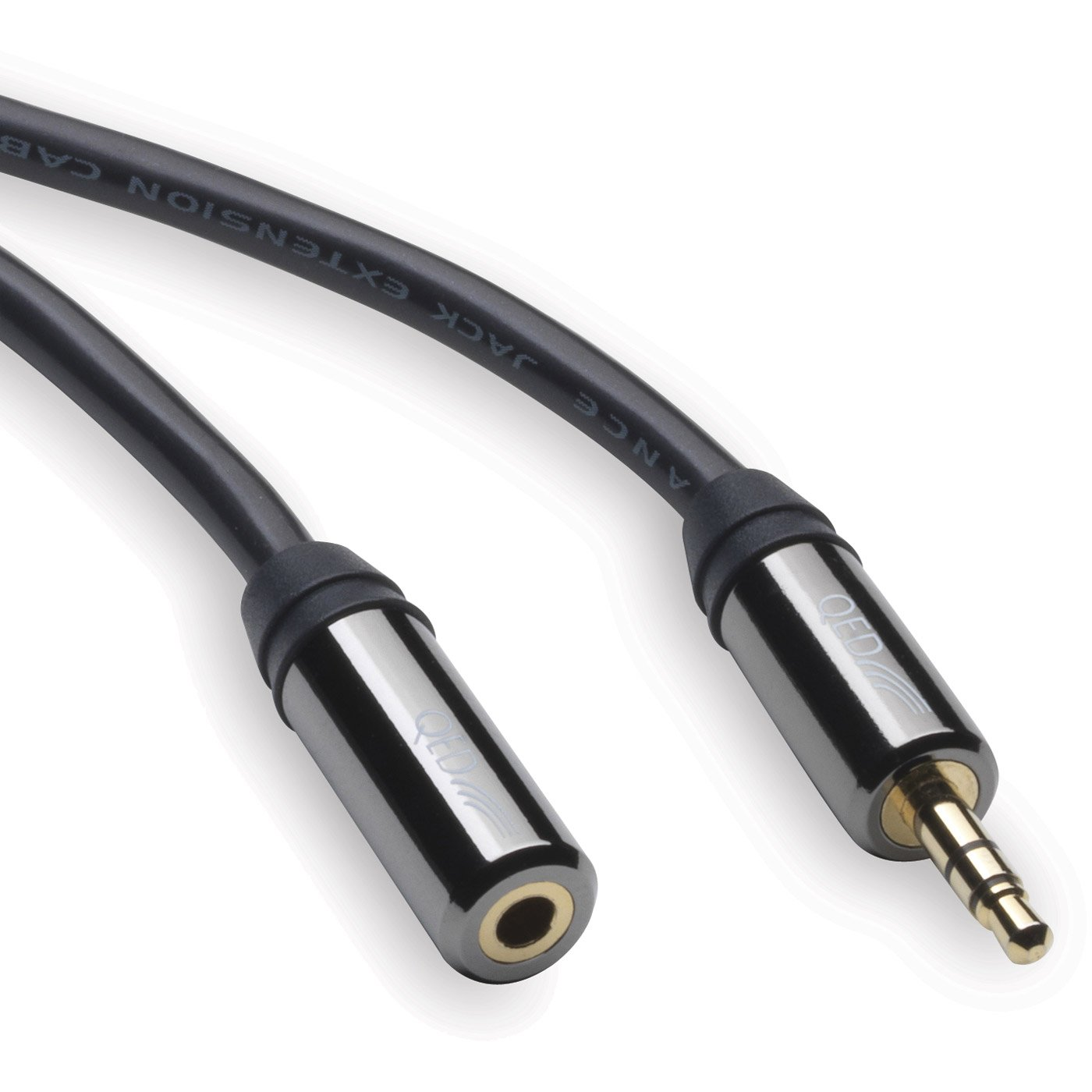 QED Performance 3.5mm Headphone Extension Lead: Amazon.co.uk ...