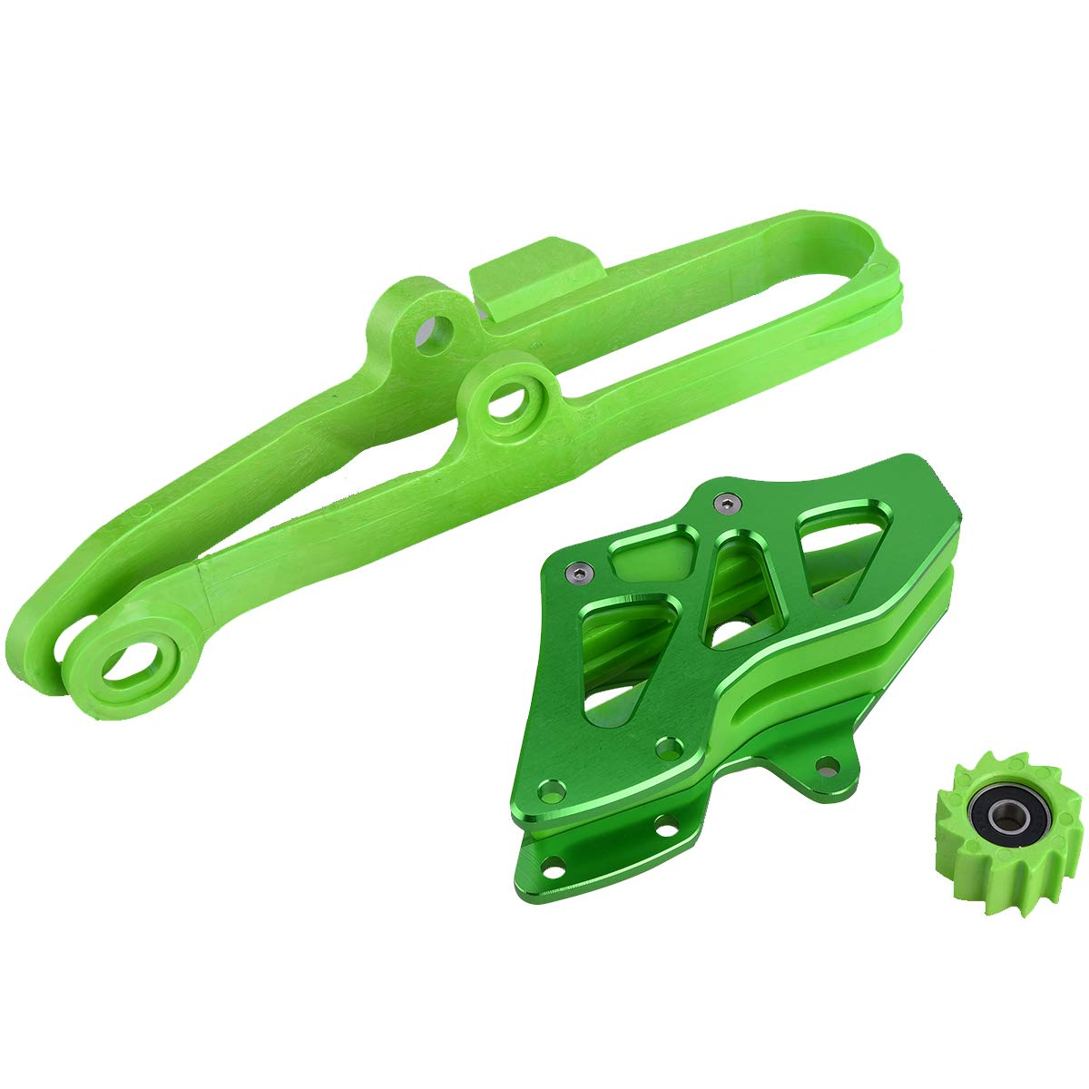 PRO CAKEN CNC Chain Slide-N-Glide Swinging Swingarm Protector for KXF250 KXF450 09-15