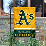 Oakland Athletics Double Sided Garden Flag