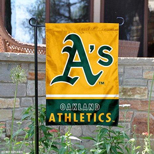 Oakland Athletics Garden (Oakland Athletics Double Sided Garden Flag)