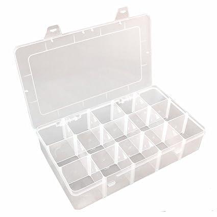 Amazoncom Plastic Jewelry Box Organizer Storage Container With