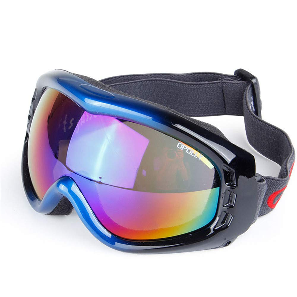 YFFS Mountain Ski Goggles and Ski Glasses Goggles Single-Layer Spherical Proof Goggles Lenses