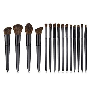 7ccbab17bc00 Amazon.com: Holata Makeup Brushes Black 11Pcs Top Makeup Brushes ...