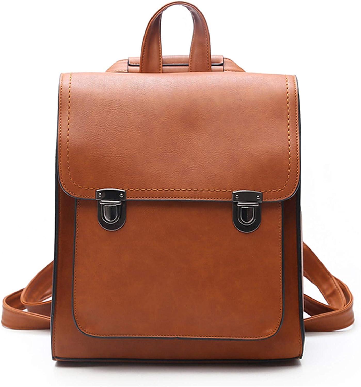 Hangton Fashion Women Backpack WomenS Pu Leather Backpacks Girl School Bag Backpack Vintage Shoulder Bags Travel Bolsa Black