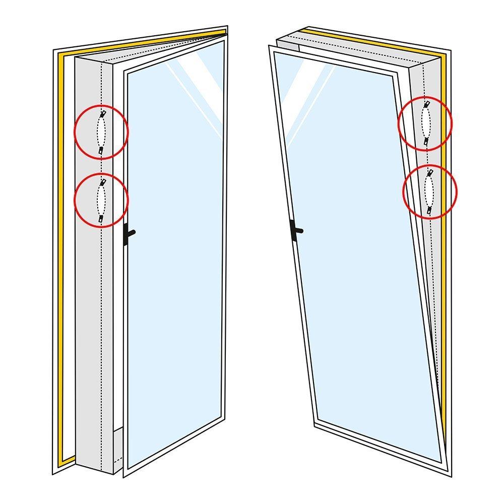 TROTEC AirLock 1000 Tür- und Fensterabdichtung für Mobile ...