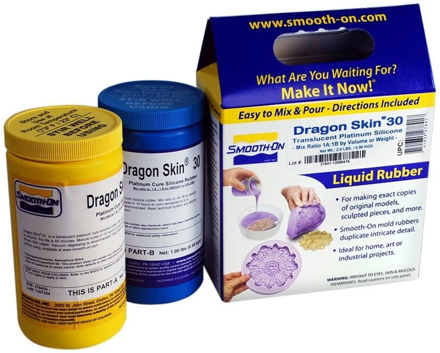 Dragon Skin 30 Mold Making Silicone Rubber - Trial Unit