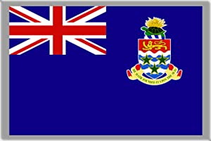 GIFTSCITY Cayman Islands Flag Fridge Magnet Refrigerator Magnet