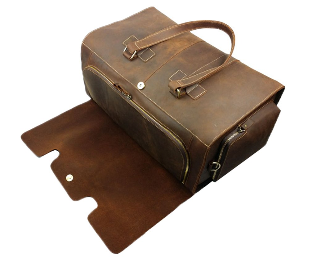 Genda 2Archer Vintage Travel Duffel Bag Boarding Luggage Carry On Gifts for Men by Genda 2Archer (Image #5)